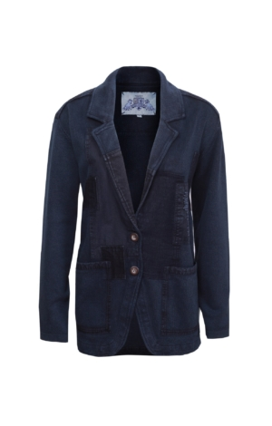 Well-Dressed Relazed Blazer in Dark Blue. Piece of Blue