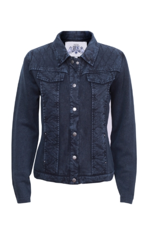 Basic jacket in dark blue. Piece of Blue