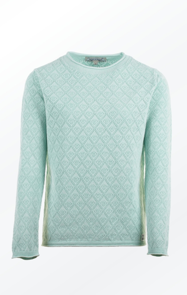 Simple yet Feminine Pullover in Mint Green for Women from Piece of Blue