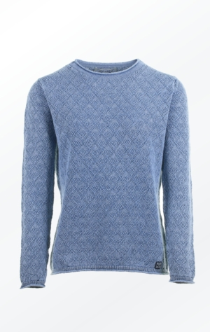 Simple yet Feminine Pullover in Indigo for Women from Piece of Blue