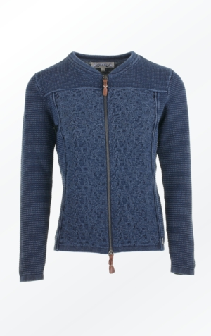 Cool and Feminine Cardigan for Women in Dark Indigo Blue from Piece of Blue