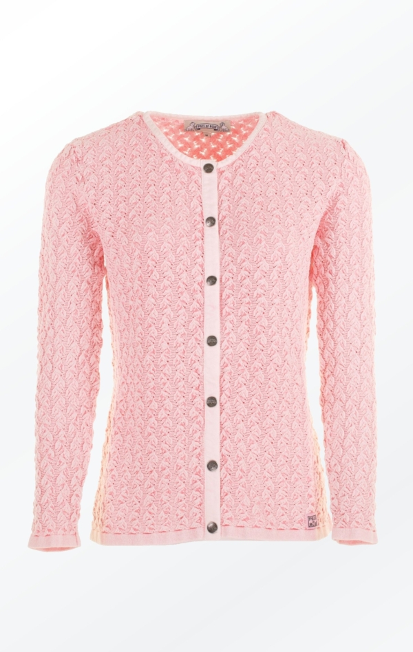 Rose Cardigan in a wimsy wumsy Knit Pattern for Her from Piece of Blue